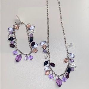 Lia Sophia costume jewelry set